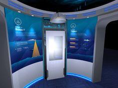 U.S. Navy Fleet Forces Command exhibit by Phillip Yonfa at Coroflot.com
