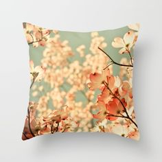 Pink Throw Pillow