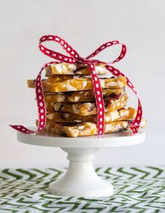 Holiday Nut & Fruit Brittle. It's perfect for gifting and so versatile, using whatever nuts or dried fruit you have around.