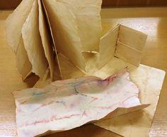 Izdelali smo svoj papir (namočen v kavo in različne čaje)