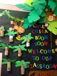 KFUNdamentals: TBT: Chicka Chicka Boom-Boom, Welcome To Our Classroom