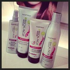"""Lançamento Matrix: Repair Inside para cabelos danificados ou submetidos a qq tipo de química! """"Não corte. Reconstrua!"""" #hair #cabelo #matrix #loreal #fashion #repair"""