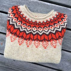 Ravelry: MarieInSweden's Threipmuir : Ravelry: MarieInSweden's Threipmuir Fair Isle Knitting, Knitting Yarn, Hand Knitting, Baby Knitting Patterns, Crochet Patterns, Icelandic Sweaters, How To Purl Knit, Baby Sweaters, Knitting Projects