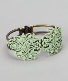 dAffadowndily  -  Mint Piper Cuff Bracelet - Zulily