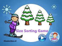Juf Petra Kleuteridee Sorting Games, Shape Sort, Online Games For Kids, Free Activities, Animated Cartoons, Sports Equipment, Petra, Geology, Kindergarten