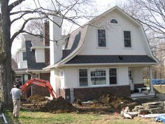 Gambrel Roof Barn Home   How to Build a Gambrel Roof on a Home or Outbuilding « roof ...