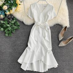 Modest Dresses, Sexy Dresses, Cute Dresses, Dress Outfits, Casual Dresses, Fashion Outfits, Awesome Dresses, Wrap Dresses, Elegant Dresses