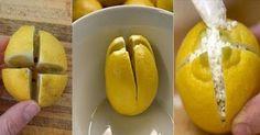 Rozkrojte citrony a nechte je přes noc v ložnici. Zde je důvod proč