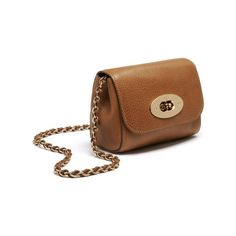 Mini Lily in Oak Natural Leather | Women | Mulberry