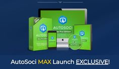 AutoSoci MAX PRO Unlimited Edition Upgrade OTO – Top Seller OTO #1 of AutoSoci PRO Traffic Sales Automation Software with Upgrade Powerful Features that will Go for Limitless Automated Traffic, Sales & Profits Hands-Free