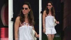 Kate Middleton. Looooove this romper :)