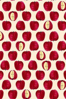 47 Ideas For Fruit Pattern Design Texture Fruit Pattern, Pattern Art, Pattern Design, Red Pattern, Motifs Textiles, Textile Patterns, Pretty Patterns, Beautiful Patterns, Fall Wallpaper