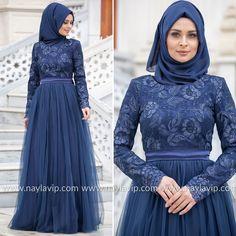EVENING DRESS - EVENING DRESS - 4283L #hijab #naylavip #hijabi #hijabfashion #hijabstyle #hijabpress #muslimabaya #islamiccoat #scarf #fashion #turkishdress #clothing #eveningdresses #dailydresses #tunic #vest #skirt #hijabtrends Islamic Fashion, Muslim Fashion, Hijab Fashion, Fashion Dresses, Hijab Outfit, Hijab Dress, Hijab Stile, Summer Outfits For Teens, Muslim Dress