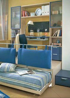 641ccbb29c1dc0 Quarto compacto Petit Espace, Salle De Jeux, Ado, Petite Maison, Décoration  Maison