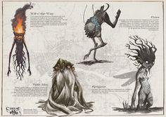 Bestiaire Fées (2) - Cthulhu 1890