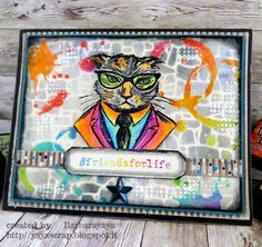 yaya scrap & more: Tim Holtz Hipster Stamp set