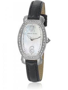 Pierre Cardin Analog OVAL Watch for Women -   Buy Online Pierre Cardin Analog OVAL Watch for Women .Enchant everyone you meet with this standout accessory from Pierre Cardin, the right proportions of gold and steel tones.