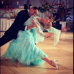 Beautiful waltz show Alexander & Veronika Beautiful dress  Love this couple
