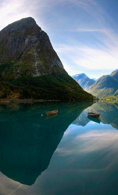 Hjelle in Stryn Fjord Norway