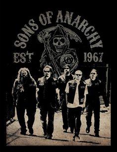 sons of anarchy posters | Bestel een Sons of Anarchy - Reaper Crew ingelijste poster op ...