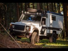 Land Rover Defender 110 ■ Test ■ DefenSuTec Hermit 250 Rugged ■ Expeditionsfahrzeug ■ - YouTube