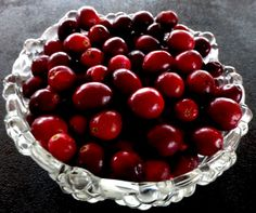 Next year harvest your own cranberries from http://www.cranberrycreations.com/    They are delicious and abundant!  Happy Thanksgiving y'all!
