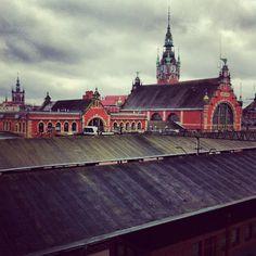 Igers Gdansk • Panorama part1  #Gdansk #igersgdansk (w: Gdańsk Główny)