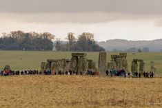 "https://flic.kr/p/G1XuhZ | Stonehenge | Drove along the by-way past Stonehenge today and heard thousands of visitors say, ""I thought they were bigger than that""."
