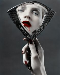 Does the mirror reflect my darkness...