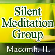 The Silent Meditation Group of Macomb, Illinois meets on Sundays at 9:45-10:30 a.m. at the Unitarian Universalist Fellowship, 300 Wigwam Hollow Rd. We begin by doing gentle yoga stretches, followed by a guided meditation. Free and open to the public.
