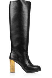 Stella McCartneyFaux leather knee boots