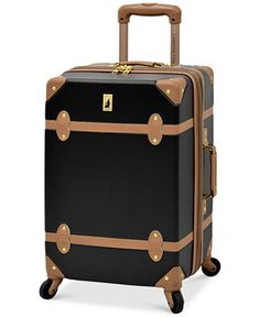 London Fog Retro 20 Carry On Expandable Spinner Suitcase - Carry-On Luggage - Luggage & Backpacks - Macy's