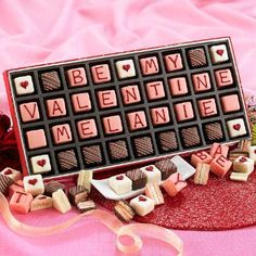 Personalized Be My Valentine Petits Fours from Figi's: deliver something extra-special this Valentine's Day! Have your loved-one's name added to these fun little cakes!