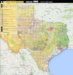 A free interactive mapping tool to assist in understanding Texas habitats