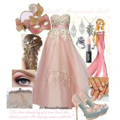"""Giselle's Masquerade Ball"" by xuanniediamond on Polyvore"
