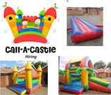 Call-A-Castle is a family owned and operated business focused on providing a high level of service for the hiring of Jumping Castles throughout Gauteng (Pta East - Free delivery).