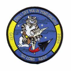 F-14 Tomcat military patch