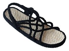 Original Rope Sandal in Black & Beige Rope Sandals, Walking Barefoot, Thing 1, Beige Color, Online Clothing Stores, Selling Online, Espadrilles, The Originals, Stuff To Buy