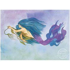 mermaid Karen Bagnard