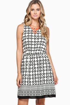 ShopSosie Style : Alena Skater Dress