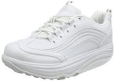 Jml Walkmaxx Comfortable Fitness Shoes Super Soft White Size 10/44