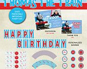 Thomas the Train Inspired Birthday Party