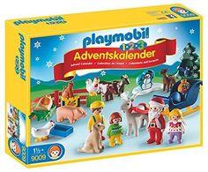 PLAYMOBIL 9009 - CALENDARIO DELL'AVVENTO 1.2.3 NATALE IN FATTORIA - Disponibile in pronta consegna su Vendiloshop.it #playmobil #offerte #giocattoli #vendiloshop