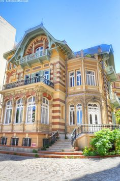 Beautiful house in Thessaloniki, Greece Macedonia Greece, Greece Thessaloniki, Wonderful Places, Beautiful Places, Travel Around The World, Around The Worlds, Oh The Places You'll Go, Places To Visit, Art Nouveau