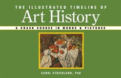 The Illustrated Timeline of Art History: A Crash Course in Words & Pictures by Carol Strickland PhD http://smile.amazon.com/dp/1402736037/ref=cm_sw_r_pi_dp_zCF3ub0MYZJNR