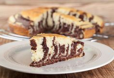 No Bake Lemon Cheesecake Cream Pie - Yumms Food Recipes Zebra Cakes, Marble Pound Cakes, Marble Cake, No Bake Lemon Cheesecake, Cocoa Cake, Fodmap Recipes, Low Fodmap, Cream Pie, No Bake Desserts