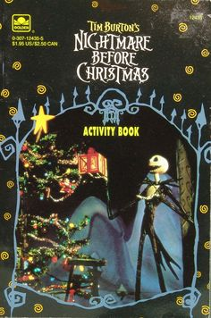 Nightmare Before Christmas Activity Book