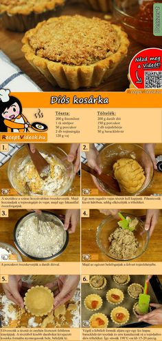 Hungarian Desserts, Hungarian Recipes, Cake Recipes, Dessert Recipes, Classic Cake, Take The Cake, Easy Chicken Recipes, Other Recipes, No Bake Cake