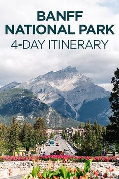 The Ultimate Banff Itinerary: Best of Banff National Park in 4 Days - Travel Pockets Alberta Canada, Banff Canada, Banff National Park, National Parks, Quebec, Best Of Banff, Oh The Places You'll Go, Places To Visit, Canada Vancouver