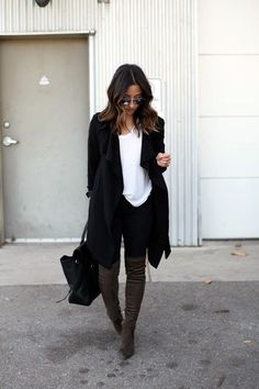 Must Wear Fall Outfits With Boots (34)